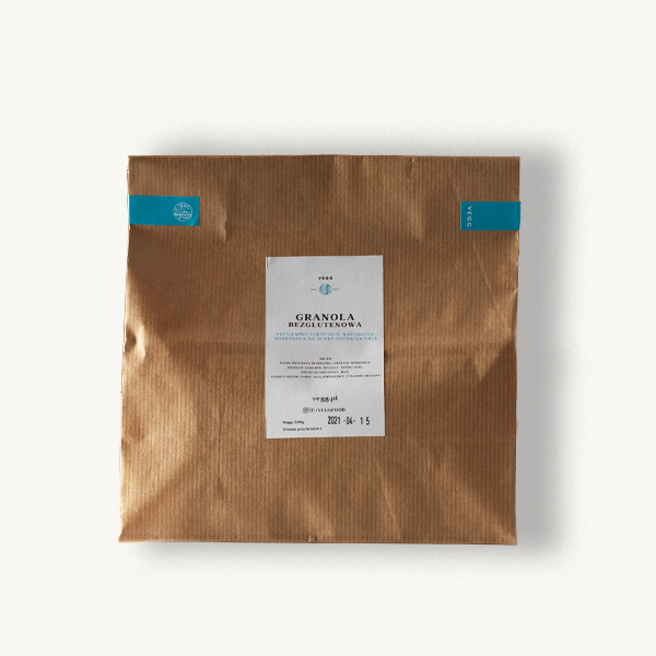 granola bezglutenowa vegg 500g