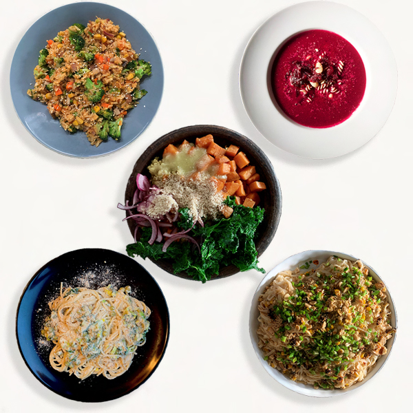 menu 1 5 dan dla 2 osob vegg home cook