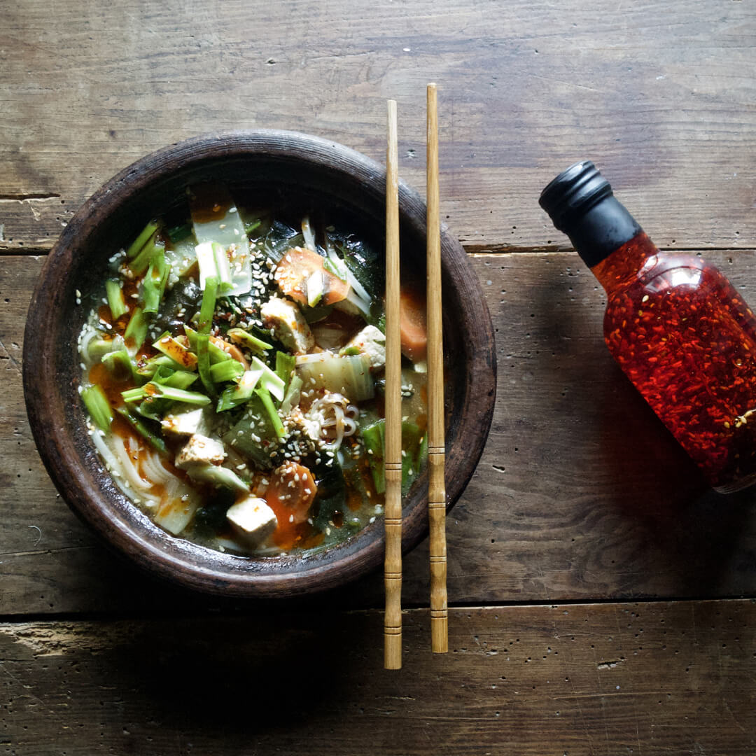 zupa miso vegg